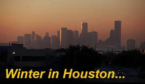 Winter in Houston...