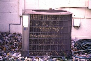 flooded air conditioner